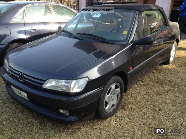 1994 peugeot 306 cabrio car photo and specs. Black Bedroom Furniture Sets. Home Design Ideas