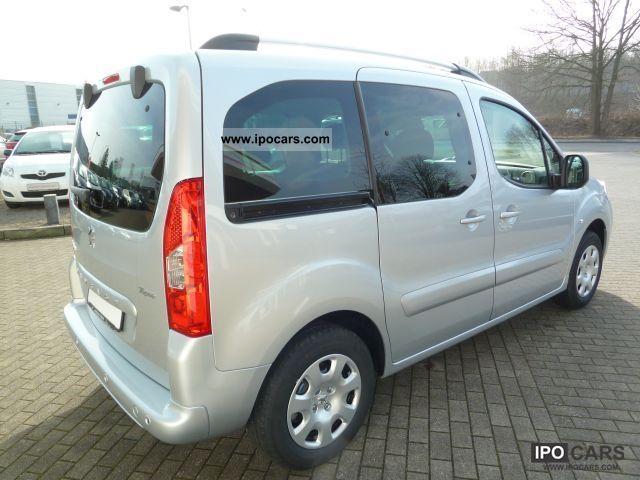 2012 Peugeot Partner Tepee Hdi Fap 90 Premium Eph Car