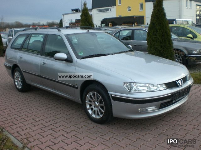 2002 peugeot 406 break v6 premium automatic climate control car photo and specs. Black Bedroom Furniture Sets. Home Design Ideas