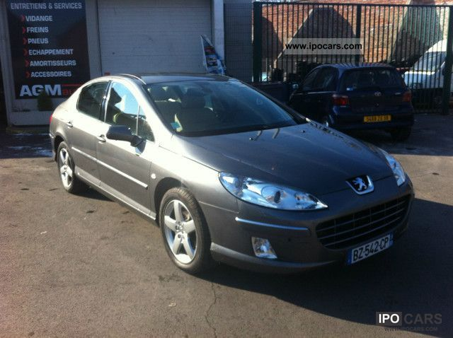 2009 peugeot 407 2 0 hdi 16v 136ch fap f line car photo and specs. Black Bedroom Furniture Sets. Home Design Ideas