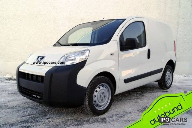 2011 Peugeot  Bipper 1.3 HDI 75 air-conditioned Estate Car Demonstration Vehicle photo