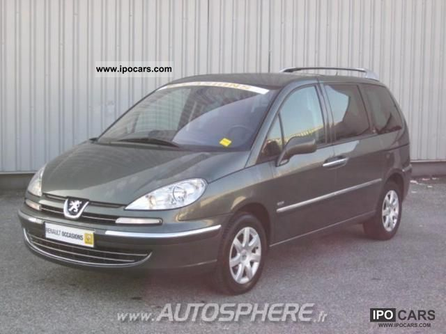 2008 peugeot 807 2 2 hdi170 navteq fap car photo and specs. Black Bedroom Furniture Sets. Home Design Ideas