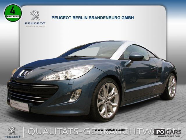 2010 peugeot rcz 155 thp memory navigation car photo and specs. Black Bedroom Furniture Sets. Home Design Ideas