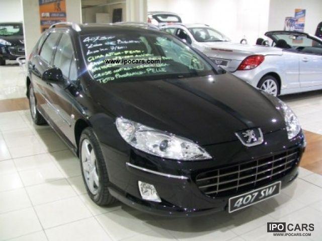 2011 Peugeot  407 SW 2.0 HDi FAP Ciel Business Estate Car Pre-Registration photo