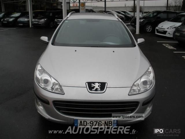 2008 Peugeot  407 SW 2.0 Confort Pack FAP HDi136 Estate Car Used vehicle photo