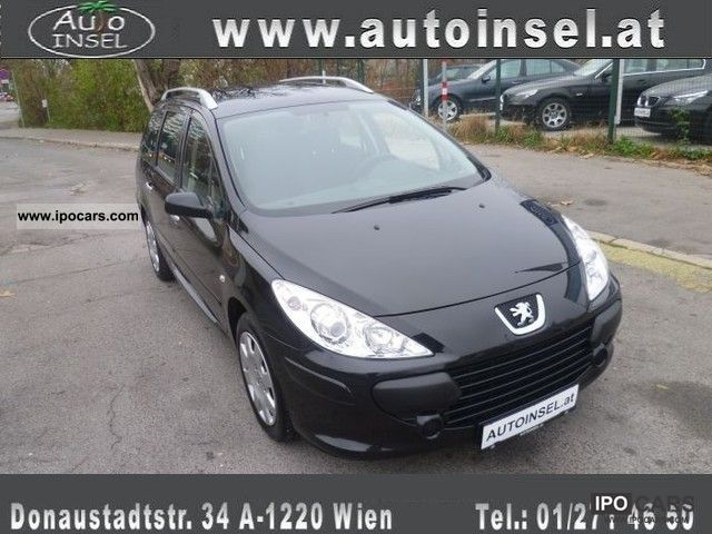 2007 peugeot 307 hdi sw 110 car photo and specs. Black Bedroom Furniture Sets. Home Design Ideas