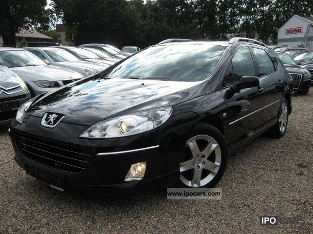 2008 Peugeot  407 SW HDi 140 NAVTEQ ON BOARD TOP PANORAMIC -220 Estate Car Used vehicle photo