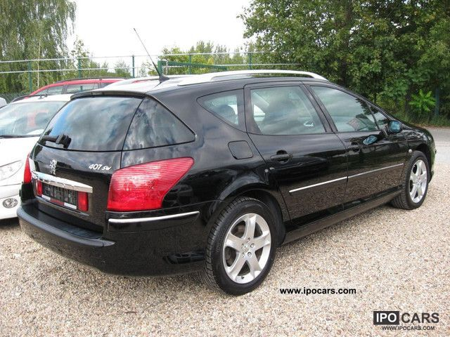 2008 peugeot 407 sw hdi 140 navteq on board top panoramic 220 car photo and specs. Black Bedroom Furniture Sets. Home Design Ideas