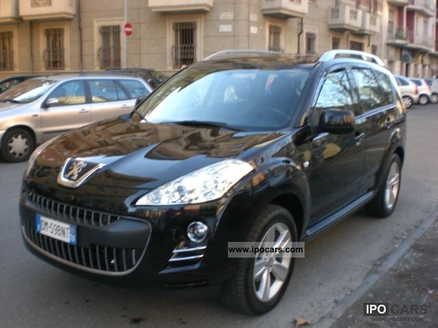 2008 peugeot 4007 hdi 4x4 7 posti car photo and specs. Black Bedroom Furniture Sets. Home Design Ideas