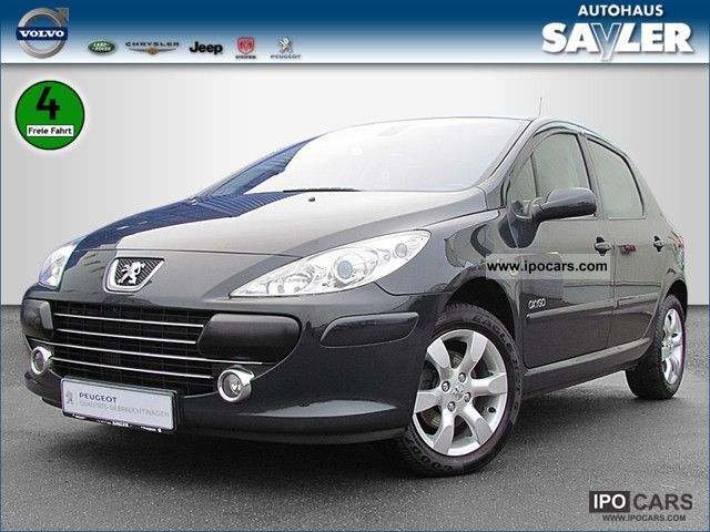 2007 peugeot 307 hdi fap 110 oxygo klimaautom atik car photo and specs. Black Bedroom Furniture Sets. Home Design Ideas