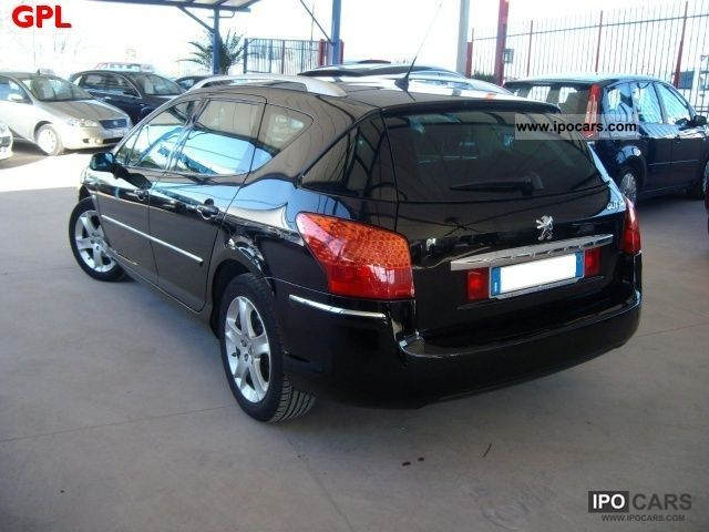 2008 peugeot mod 407 sw 2 0 hdi techno car photo and specs. Black Bedroom Furniture Sets. Home Design Ideas