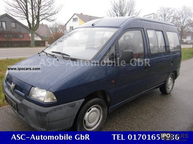 1998 Peugeot  Expert B5C5 standard Van / Minibus Used vehicle photo