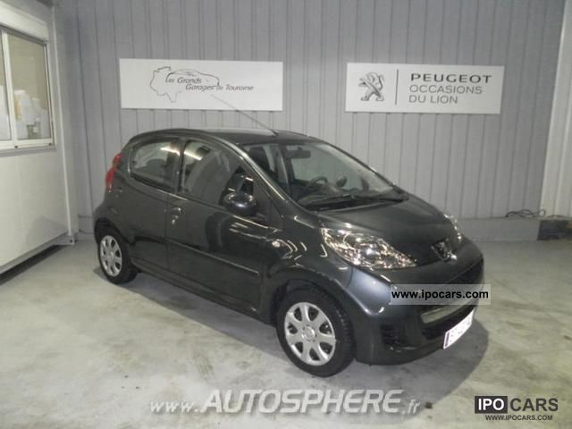 2011 peugeot 107 car photo and specs. Black Bedroom Furniture Sets. Home Design Ideas