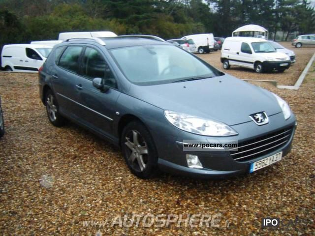 2008 peugeot 407 premium pack 2 0 hdi136 fap car photo and specs. Black Bedroom Furniture Sets. Home Design Ideas