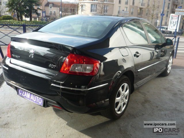 2009 peugeot 407 1 6 hdi 16v fap 110ch blue lion conf car photo and specs. Black Bedroom Furniture Sets. Home Design Ideas