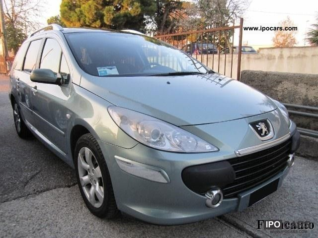 Peugeot  307 1.6 16V SW Australian 2007 Liquefied Petroleum Gas Cars (LPG, GPL, propane) photo