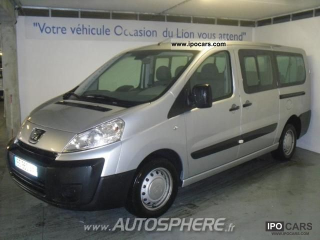 2010 peugeot expert tepee 6 1 hdi90 confort pack long car photo and specs. Black Bedroom Furniture Sets. Home Design Ideas