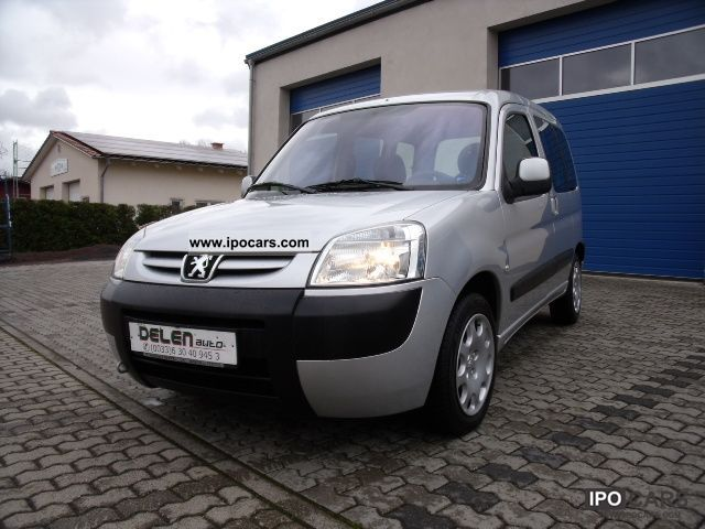 2006 peugeot partner hdi 90 190 c mutiplace car photo and specs. Black Bedroom Furniture Sets. Home Design Ideas