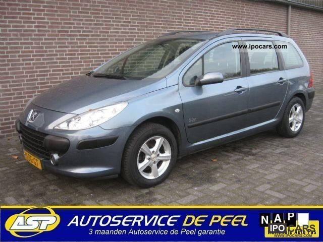 2008 peugeot 307 break 1 6hdif d sign 66kw 12 mnd warranty car photo and specs. Black Bedroom Furniture Sets. Home Design Ideas
