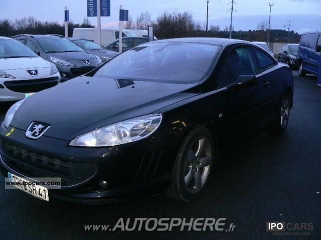 2009 peugeot 407 coupe 2 7 v6 hdi fap feline baa car photo and specs. Black Bedroom Furniture Sets. Home Design Ideas