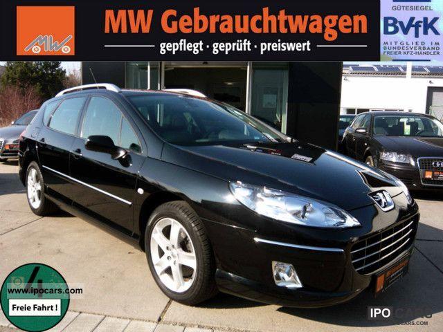 2009 Peugeot  407 SW HDi 140 2 X JBL NAVI Sitzh PDC Bluet. 17 \ Estate Car Used vehicle photo