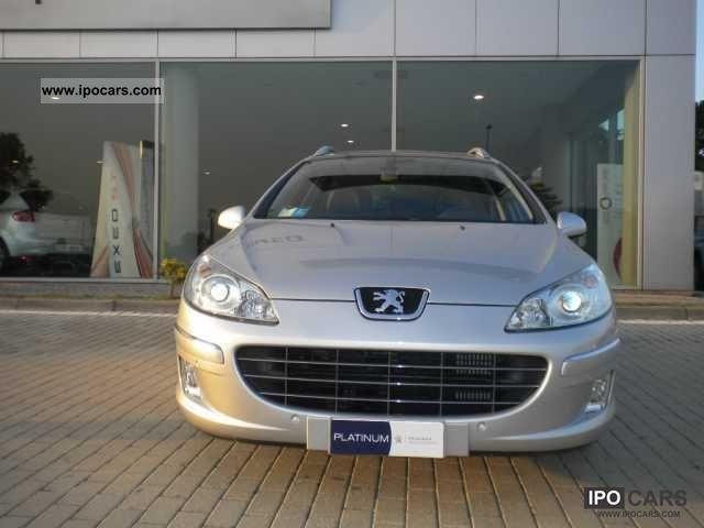2010 Peugeot  407 SW 2.0 HDi FAP Ciel Business 140cv Estate Car Used vehicle photo
