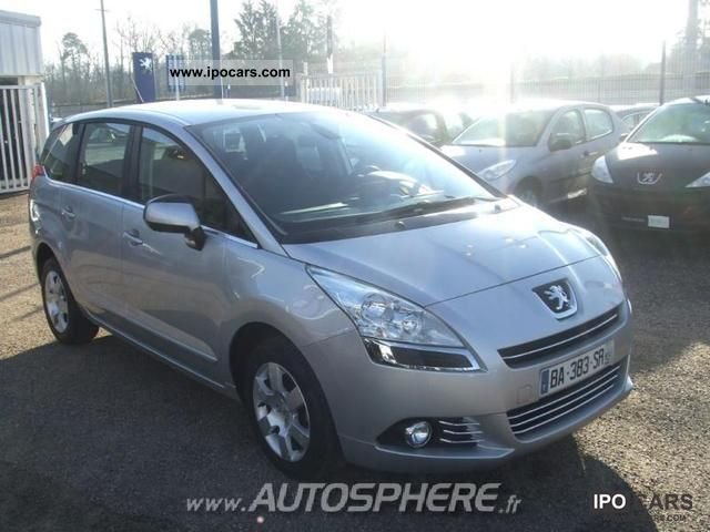 2010 peugeot 5008 2 0 hdi business pack 5pl car photo and specs. Black Bedroom Furniture Sets. Home Design Ideas