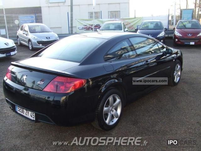 2009 Peugeot 407 Coupe 2.0 HDi FAP Sport Sports car/Coupe Used vehicle ...