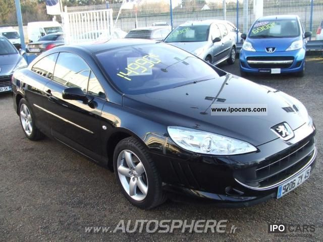 2009 peugeot 407 coupe 2 0 hdi fap sport car photo and specs. Black Bedroom Furniture Sets. Home Design Ideas