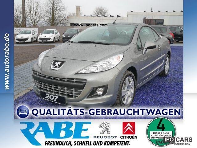 2012 Peugeot  16V 120 207 1.6 VTI premium Cabrio / roadster Used vehicle photo