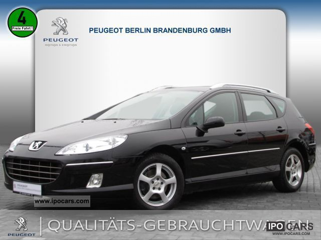 2009 Peugeot  407 SW HDI 135 Satellite Navigation Business Line Estate Car Used vehicle photo