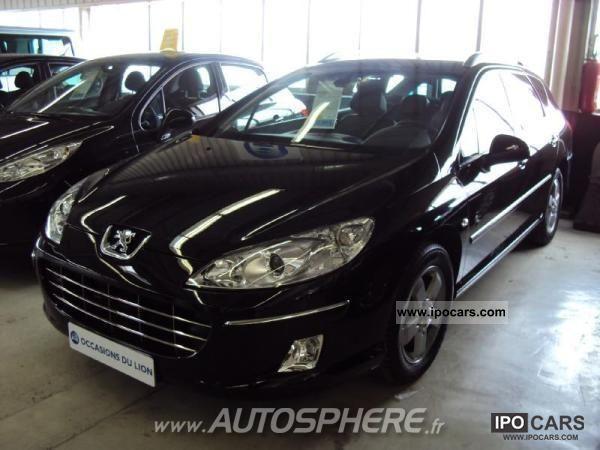 2009 Peugeot  407 SW 1.6 HDi110 Black & Silver Edit. F Estate Car Used vehicle photo