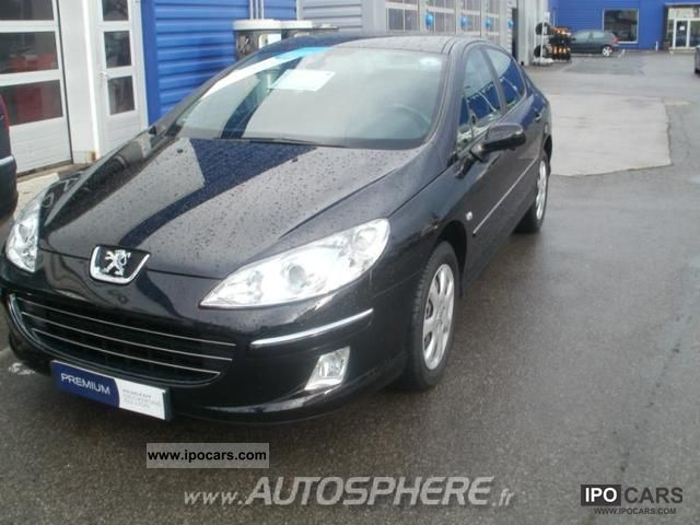 2009 peugeot 407 2 0 hdi140 navteq fap car photo and specs. Black Bedroom Furniture Sets. Home Design Ideas