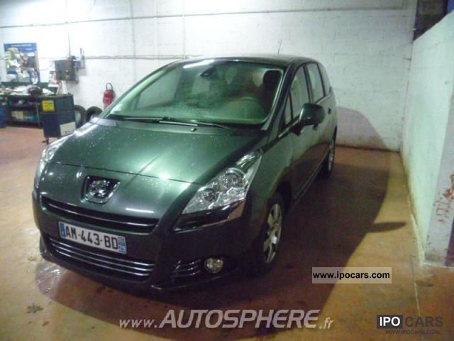 2010 peugeot 5008 1 6 hdi business pack 5pl car photo and specs. Black Bedroom Furniture Sets. Home Design Ideas