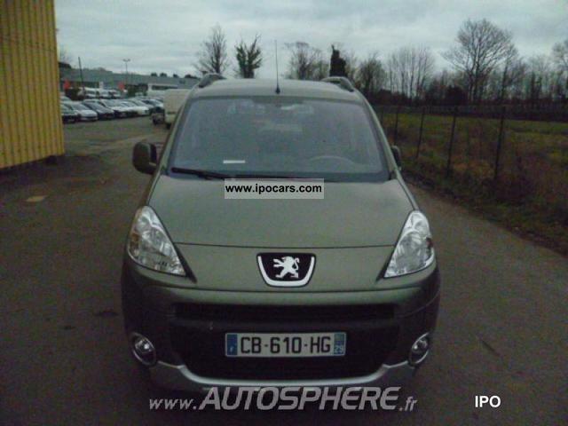2012 Peugeot  Partner Tepee 1.6 e-HDi92 FAP active BMP Estate Car Used vehicle photo