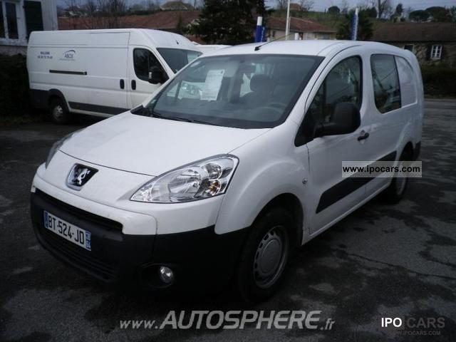 2011 Peugeot  Partners CCb 121 L2 Cab Appr Limousine Used vehicle photo