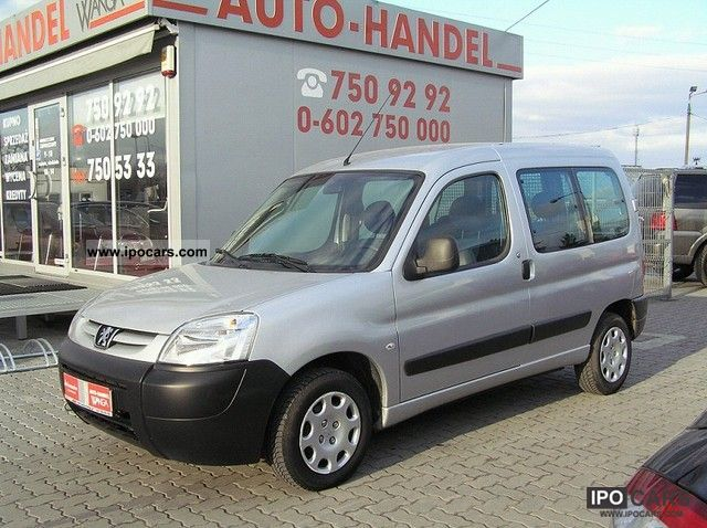 2007 Peugeot  Partner Estate Car Used vehicle photo