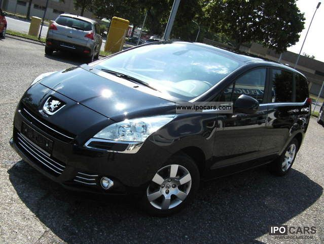 2010 peugeot 5008 premium hdi 150 euro 5 park assist car photo and specs. Black Bedroom Furniture Sets. Home Design Ideas