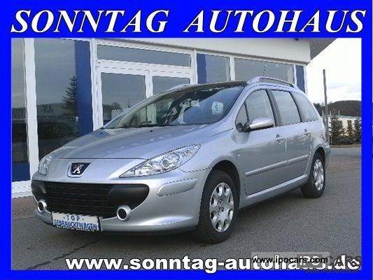 2007 Peugeot  307 110 Tendance PDC Estate Car Used vehicle photo