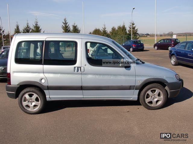 2001 Peugeot  Partners 1.6 Liberte Estate Car Used vehicle photo