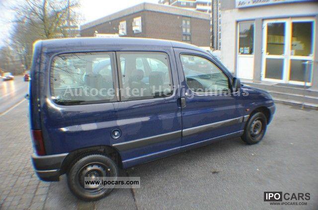 1998 peugeot partner 1.8i break servo radiocd 3 owner - car photo