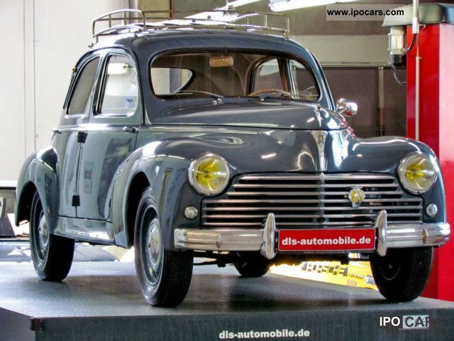 Peugeot  SSD 203 Sedan 1951 Vintage, Classic and Old Cars photo