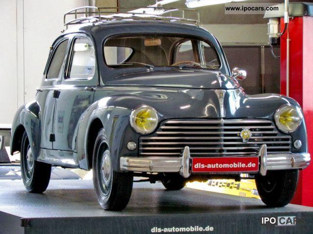 1951 Peugeot  SSD 203 Sedan Limousine Classic Vehicle photo