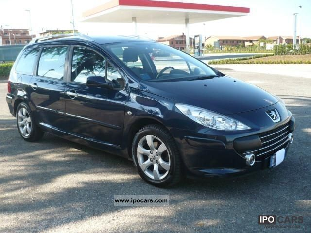 2008 peugeot 307 sw 1 6 hdi 110 cv tetto panoramico car. Black Bedroom Furniture Sets. Home Design Ideas
