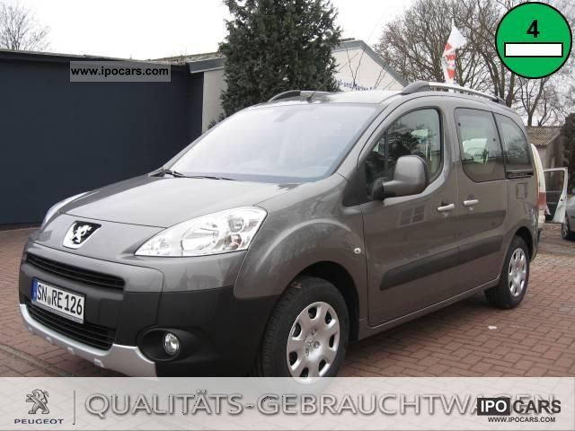 2012 Peugeot  Partner Tepee HDi FAP 110 Tendance Van / Minibus Used vehicle photo