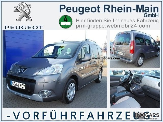 2012 Peugeot  Partner Tepee Family Estate Car Demonstration Vehicle photo