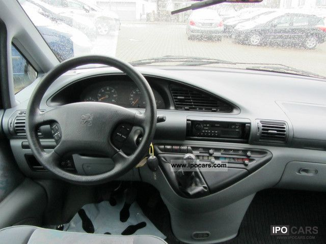 1998 peugeot 806 dt sr 3 hand t v au 03 2013 car for Interieur 806