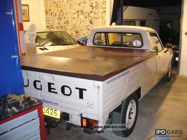 1990 Peugeot 504 Pick Up Car Photo And Specs