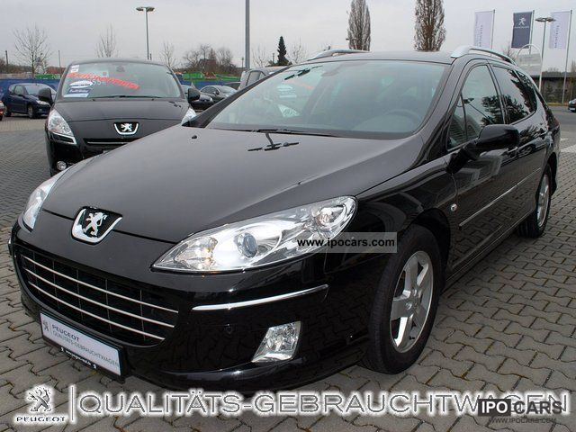 2009 peugeot 407 sw 2 0 hdi bussines line navi standheizu car photo and specs. Black Bedroom Furniture Sets. Home Design Ideas