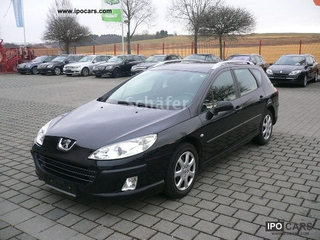 2008 peugeot 407 sw hdi 110 tendance car photo and specs. Black Bedroom Furniture Sets. Home Design Ideas